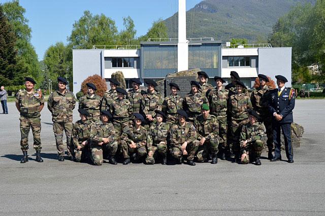 formation militaire initiale de r serve 2015 13eme bca